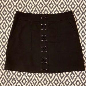 Black Skirt Skirt by Express